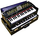 Package Content: 1 Harmonium + Free Carry Bag. Harmonium with 42 Keys, 9 Stopper, 7 Bellow, Two Reed (Bass-Male) and Coupler. Standard Pitch of Tuning is 440. Set of 2 Reeds i.e. Bass and Male. Disclaimer : Color may Slightly vary from the image.