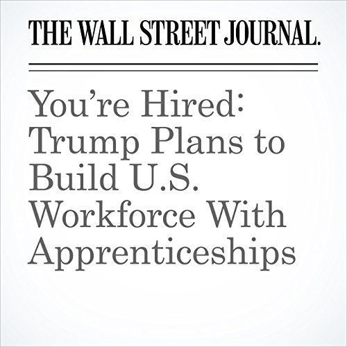 You're Hired: Trump Plans to Build U.S. Workforce With Apprenticeships copertina