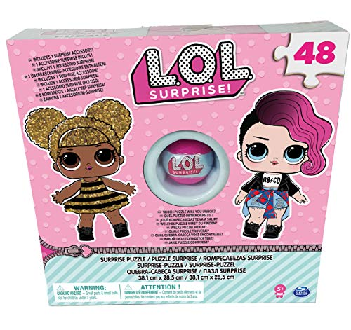Spin Master L.O.L. Puzzle Box with Exclusive Ball