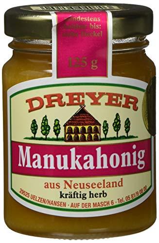 Dreyer Manukahonig, MGO 300+, 1er Pack (1 x 125 g), 407