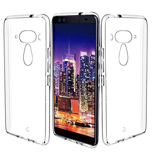 Preisvergleich Produktbild KingShark HTC U12 Plus / HTC U12+ Hülle Silikon,  TPU Schutzhülle Dünn Schlank Weich Flexibel Anti-Kratzer Schutzhülle Abdeckung Case Cover für HTC U12 Plus - Transparent