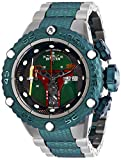 Invicta Men's Star Wars Automatic Watch with Stainless Steel Strap, Green, 28.7 (Model: 27169)