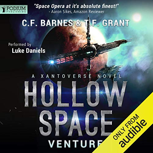 Hollow Space: Venture Audiobook By C.F. Barnes, T.F. Grant cover art