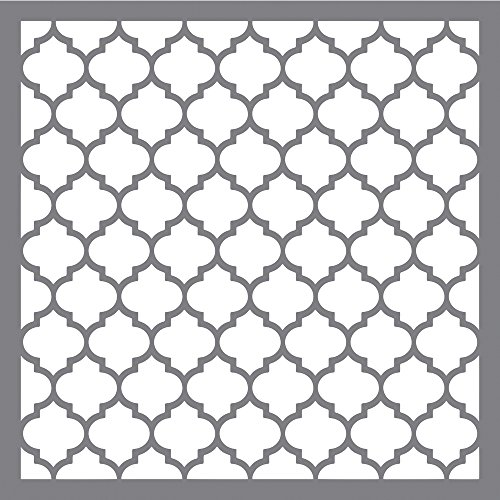 Rayher Schablone Waben klassisch, Diverse, Grau 3.3 x 3.1 x 0.02 cm