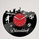 Gravinci Schallplatten-Wanduhr Düsseldorf Fan