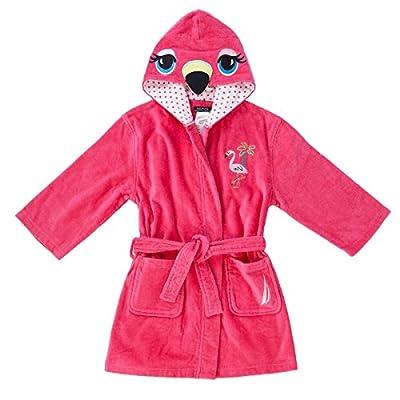 Nautica Girls Beach Swim Hooded Terry Velour Cover-up Robe