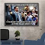 DPFRY Poster druckt heiß Der Wolf der Wall Street Leonardo