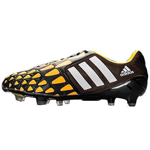 adidas Nitrocharge 1.0 FG M18429 Mens Soccer Cleats (7) Black/Orange