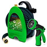Best 75 Foot Garden Hoses - Rolio Expandable Garden Hose with Hose Reel Review