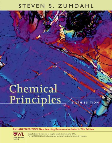 Student Solutions Manual for Zumdahl's Chemical Principles with OWL, Enhanced Edition, 6th