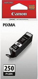 Canon Genuine Brand Name, OEM 6497B001 (PGI250) PGI-250 Pigment Black Inkjet Cartridge for PIXMA iP7220, PIXMA MG5420, PIX...