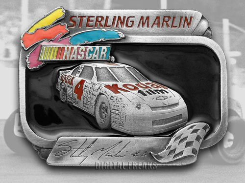 Buckles of America Limited Edition Belt Buckle for Sterling Marlin #4 Kodak Racing for NASCAR