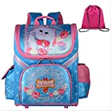 CFDG - Mochila Escolar para niñas, Mochila ortopédica, diseño de Mariposas