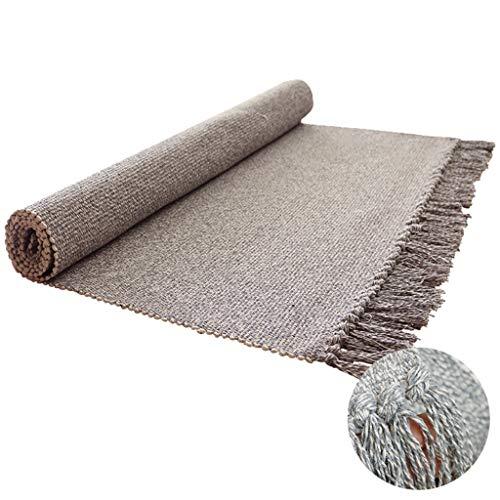 Alfombras de Guardería -CDingQ Alfombras tejida de algodón, sala de estar, dormitorio,...