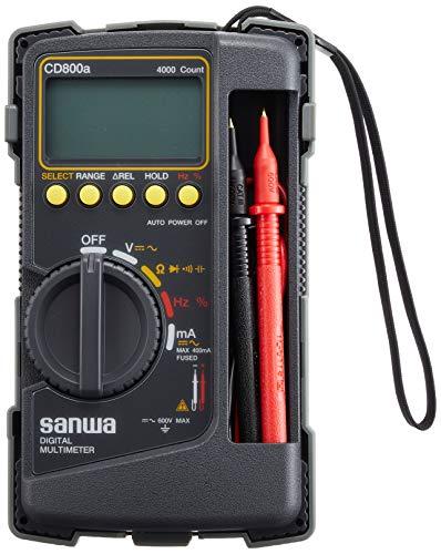Sanwa(三和電気計器)『デジタルマルチテスター(CD-800AP)』