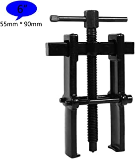 2 Jaw Bearing Puller Remover Forged Gear Removal Repair Tool for Motorcycle Car Auto Adjustable Range Carbon Steel Straight Type Black - 5 Sizes for Choice (6in-55×90mm)