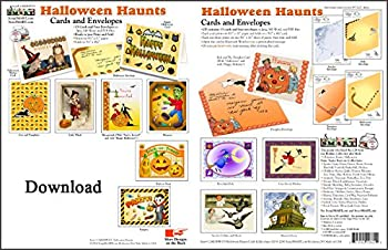 ScrapSMART - Halloween Haunts Cards & Envelopes - Software Collection - Jpeg, MS Word, and PDF files [Download]