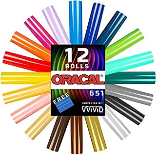 Oracal 651 Choose Your Own Colors Multi-Roll Pack 12