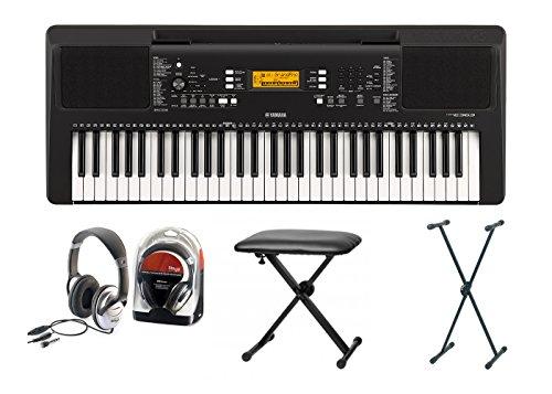 Yamaha 363 Clavier électronique Set IV avec support, siège et casque