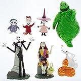Nightmare Before Christmas Disney Parks Exclusive Jack Skellington 7 Pc. Figurine Playset