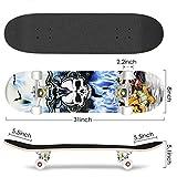 Zoom IMG-2 hikole skateboard per adolescenti ragazze