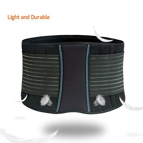 BraceUP Stabilizing Lumbar Lower Back Brace Support...
