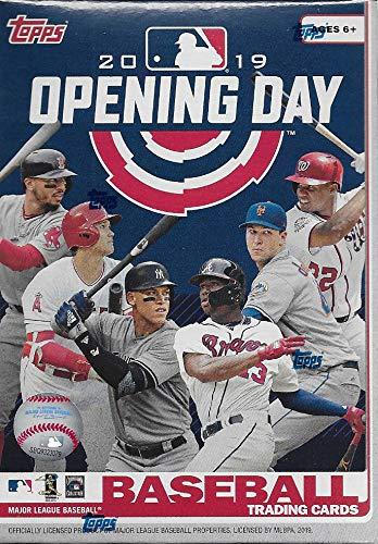2019 Topps Opening Day Baseball Series Unopened Blaster Box mit 11 Packungen zu je 7 Karten möglicher Autogramme und Game Used Relikkarten