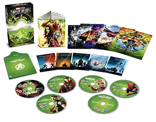 Marvel Phase 3 Part 1 Box set [Italia] [Blu-ray]