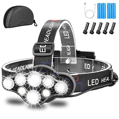 Stirnlampe,Superheller USB...
