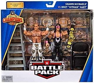 WWE Hall of Champions Shawn Michaels vs Bret Hitman Hart 2-Pack