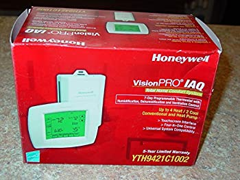 Honeywell YTH9421C1002 Visionpro IAQ Touch Screen 7-Day Programmable Thermostat Version 2