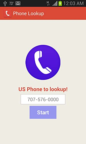 Phone Lookup