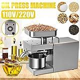 FEENGG 1500W Oil Press Machine Full-Automatic Oil...