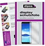 dipos I 6X Schutzfolie klar kompatibel mit Alcatel 7 Folie Bildschirmschutzfolie