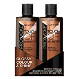 PRO:VOKE Illuminex Touch of Brunette, Brunette Enhancing Shampoo and Conditioner Duo Pack, 200 ml