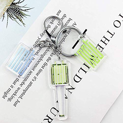 Mini Office Depot Kpop Nct Twice BTS Schlüsselanhänger Süße Cartoon Nct 127 Schlüsselanhänger Hot Geschenk für Fans - H02, Normal