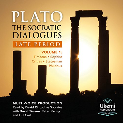 The Socratic Dialogues: Late Period, Volume 1 audiobook cover art
