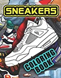 Sneakers Coloring Book: Coloring Book For Adult For Stress Relief  With 22 Sneakers