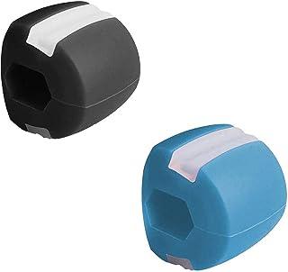 2 delar av ansiktets fitnessboll, dubbel kinn Exerciser boll, tall träningspul, träningsutrustning för tall ansikte och hals