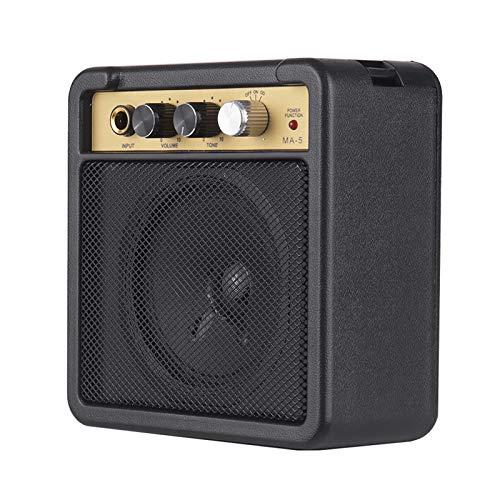 pedkit Mini Amplificador de Guitarra Amplificador de Altavoz 5W con 6.35mm de...
