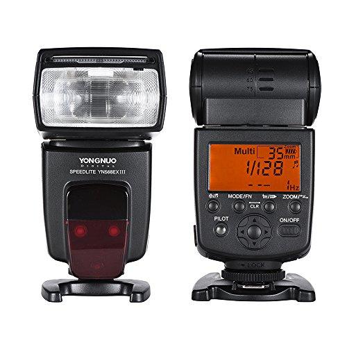 Yongnuo YN-568EX II Flash Speedlite per Canon EOS da HSS speed 600D 550D 500D 100D
