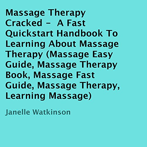 Massage Therapy Cracked audiobook cover art