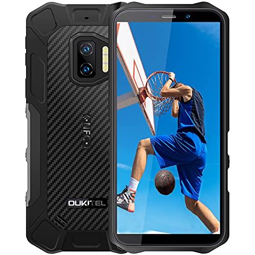 Rugged Smartphone Economico OUKITEL WP12 Pro, 4GB 64GB Android 11 Dual SIM con NFC Cellulari Offerte,13MP 8MP Camera Schermo 5,5   Batteria 4000mAh, IP68 Impermeabile Antiurto Telefono Resistente Nero