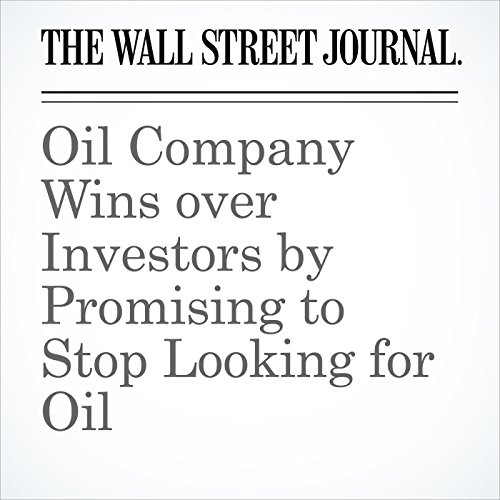Oil Company Wins over Investors by Promising to Stop Looking for Oil copertina