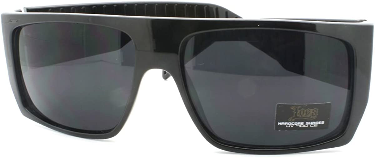 JuicyOrange Locs Sunglasses Mens Flat Mob mart Top Gangster Online limited product Square Fa
