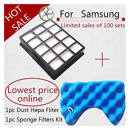 ZRNG Aspirador de Piezas de vacío Filtro for Samsung Hepa Filter FIT for Samsung DJ97-00492A SC6520 SC6530 / 40/50/60/70 Accesorios La instalación es Simple y fácil de Usar.
