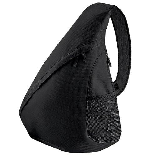 Bagbase Universal Monostrap Bag / Backpack (12 Litres) (One Size) (Black)