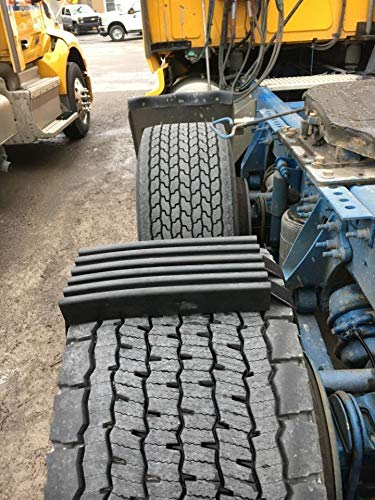 TRACGRABBER Trac-Grabber – Snow, Mud and Sand Tire Traction Device, Set of 2 – for Wide Track or Super Single Trucks, Easy to Install – A Snow Traction Mat Alternative – Get Unstuck