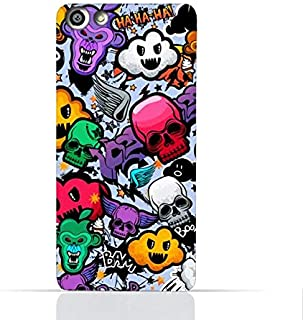 OPPO F3 Plus TPU Silicone Case With Funky Seamless Freak Texture