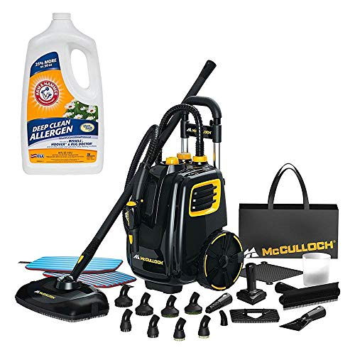 Cheap McCulloch Deluxe Canister Multi-Floor Steam Cleaner System w/Carpet Cleaner